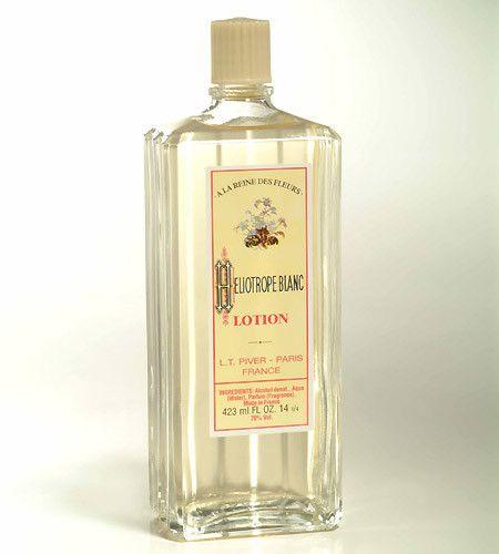 Les 3 parfums majeurs. 3) Le parfum Héliotrope blanc